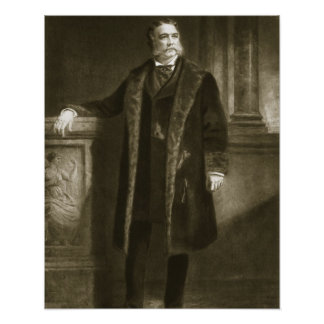Chester A. Arthur, 21ro presidente del St unido Impresiones