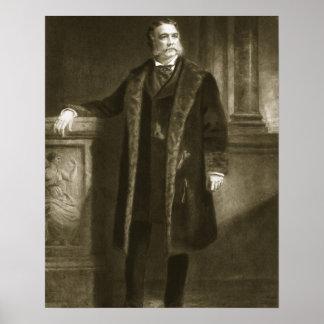 Chester A. Arthur, 21ro presidente del St unido Póster