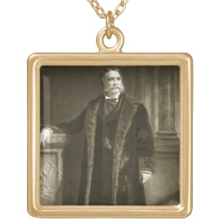 Chester A. Arthur, 21st President of the United St Gold Plated Necklace