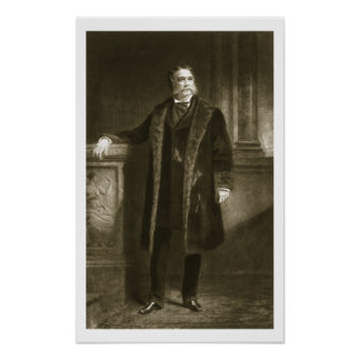 Chester A. Arthur, 21st President of the United St Print