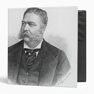 Chester Alan Arthur , engraved by A. Weger Binder