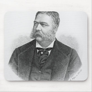 Chester Alan Arthur , engraved by A. Weger Mouse Pad