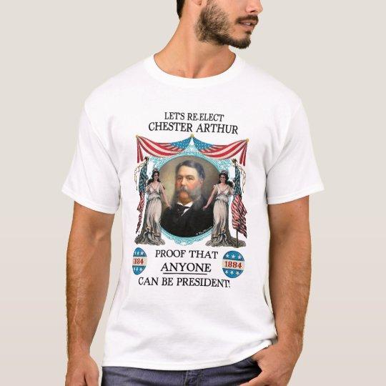 Chester Arthur 1884 Campaign T-shirt (Men's Light)