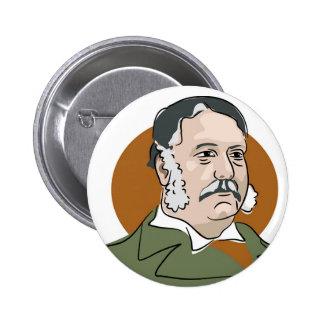Chester Arthur Pinback Button