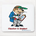 Chester B. Gopher Mousepad mousepad