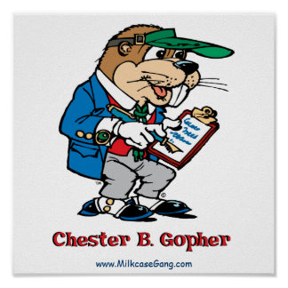 Chester B. Gopher Poster