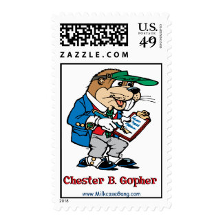 Chester B. Gopher Stamp