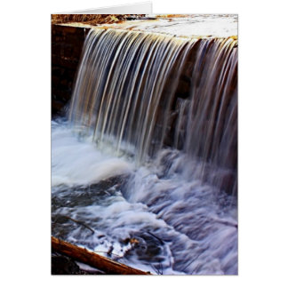 Chester Bowl Waterfall Greeting Card