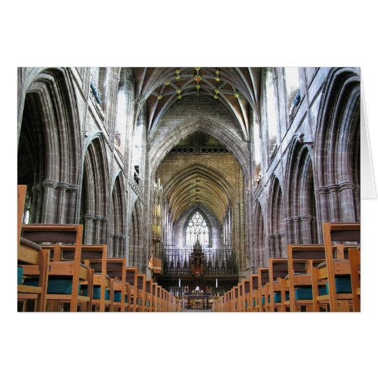 Chester Cathedral Card