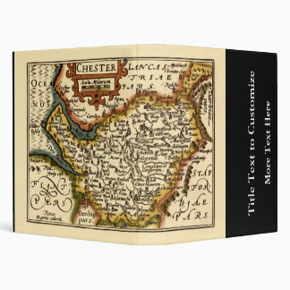 Chester Cheshire County Map England Binder