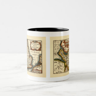 Chester Cheshire County Map England Mugs