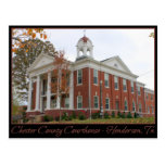 Chester County Courthouse - Henderson, TN Post Card