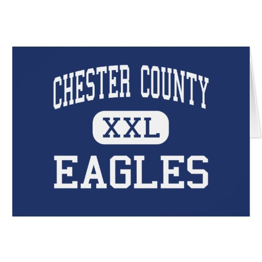 Chester County - Eagles - Junior - Henderson Greeting Card