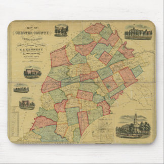 Chester County, Pennsylvania Mouse Pad