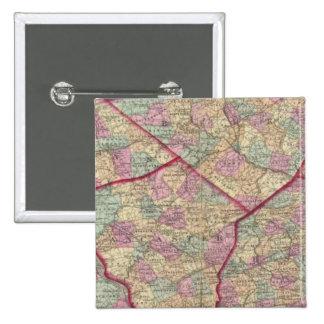 Chester, Dauphin, Berks, Lebanon Pinback Button