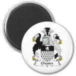Chester Family Crest Magnets