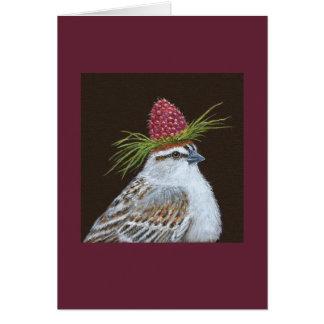Chester, la tarjeta del gorrión que salta