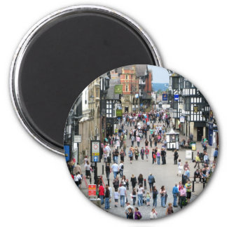 Chester Main Street 2 Inch Round Magnet