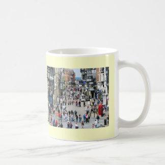 Chester Main Street Classic White Coffee Mug