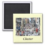 Chester Main Street Refrigerator Magnet