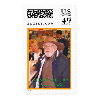 CHESTER MIDURA POSTAGE STAMPS