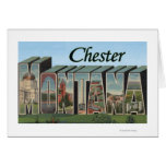 Chester, Montana - Large Letter Scenes Greeting Card