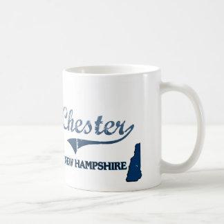 Chester New Hampshire City Classic Classic White Coffee Mug