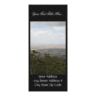 Chester Pass From Castle Rock In Western Australia Personalized Rack Card