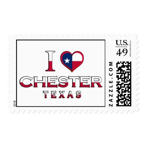 Chester, Tejas Envio