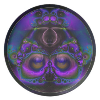 Chester the Cybernetic Owl  Plate