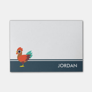 Chester the Rooster Post-it® Notes