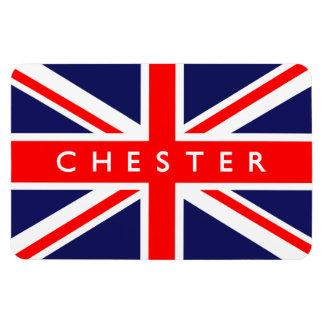 Chester UK Flag Rectangular Photo Magnet