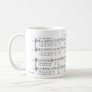 'Chester' William Billings Sacred Harp shapenotes Coffee Mug