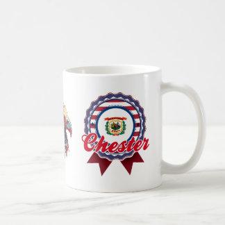 Chester, WV Classic White Coffee Mug