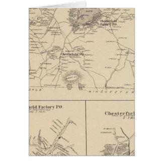 Chesterfield, Cheshire Co Tarjeta De Felicitación