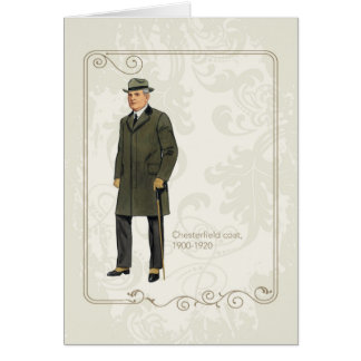 Chesterfield Coat Card