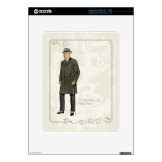 Chesterfield Coat iPad Skins