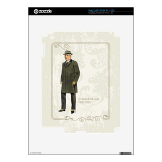 Chesterfield Coat iPad 2 Skins
