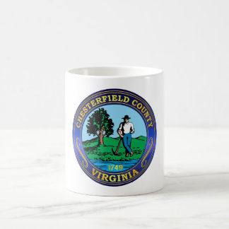 Chesterfield County seal Mugs