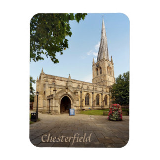Chesterfield Crooked Spire souvenir photo Magnet