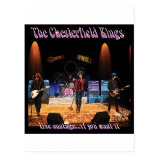 Chesterfield Kings Postcard