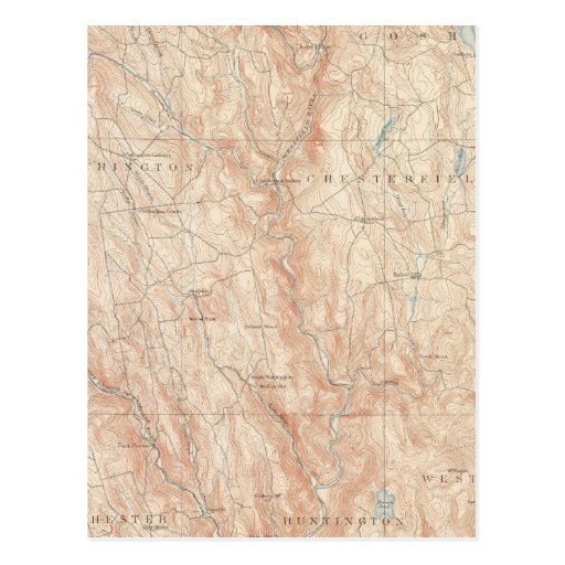 Chesterfield, Massachusetts Tarjeta Postal
