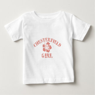 Chesterfield Pink Girl Baby T-Shirt