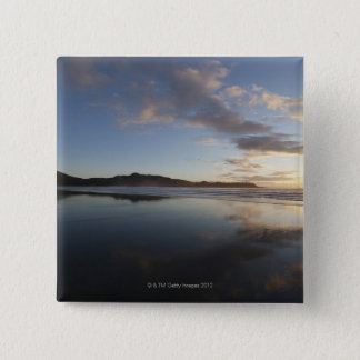 Chesterman Beach at Sunset, Tofino, Vancouver Pinback Button