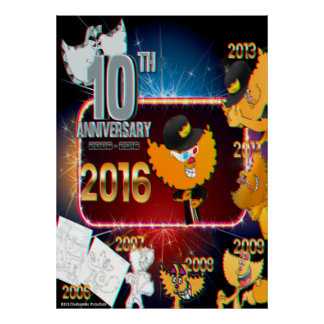 Chester's 10th Anniversary 2016 Poster