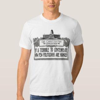 Chesterton del colgante de los políticos camisas