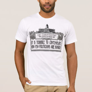 Chesterton of Politicians' Hanging T-Shirt