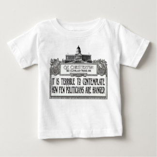 Chesterton on Politicians' Hanging Baby T-Shirt