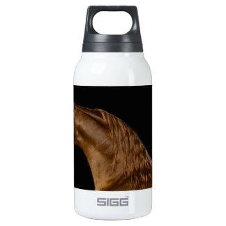 Chestnut Arabian Show Horse Insulated Water Bottle