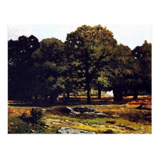 Chestnut Avenue in La Celle-Saint-Cloud by Sisley Post Cards